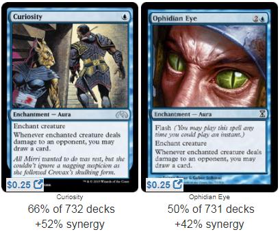 Infinite Card Draw Combo // Niv-Mizzet the Firemind Curiosity MTG Lot Blue Red