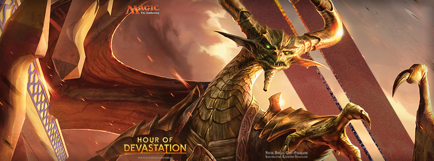 Nicol Bolas Hour of Devastation Review
