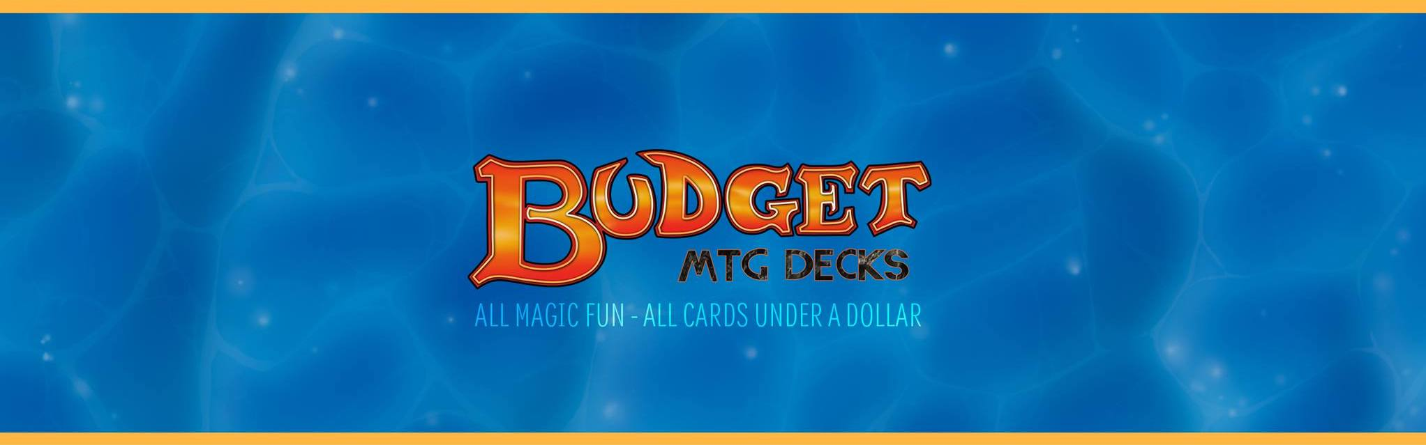 Mtg Building On A Budget Decks