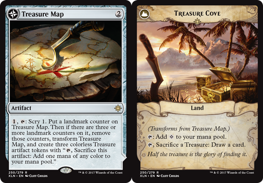 Treasure Map Treasure Cove Ixalan