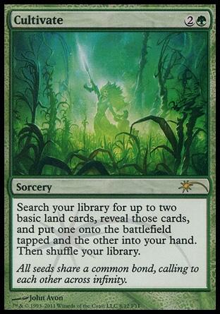 MtG Magic the Gathering Commander 2018 Uncommon Green Ramp Explosive Vegetation