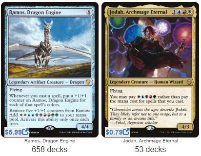Commander Showdown — Ramos vs Jodah – EDHREC