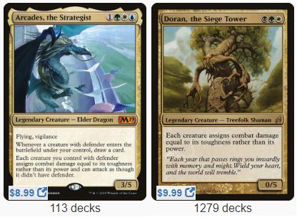 Commander Showdown – Arcades vs Doran – EDHREC