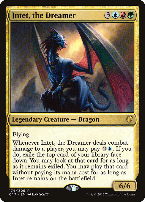 The Best Dragons In My Opinion Are Primeval A Lot Of Them Were Reprinted Fairly Recent Edh Starter Deck Cycle