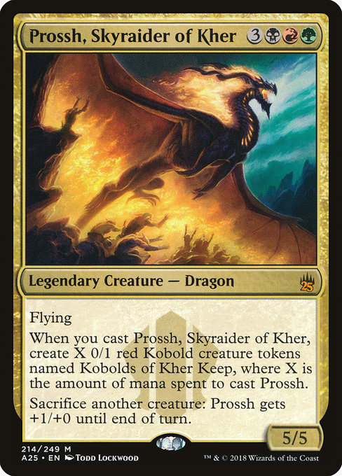Now Obviously We Have To Add In The Ur Dragon Collective Of Primeval Dragons Must Be Represented There Are A Few 5 Color Commanders You Can