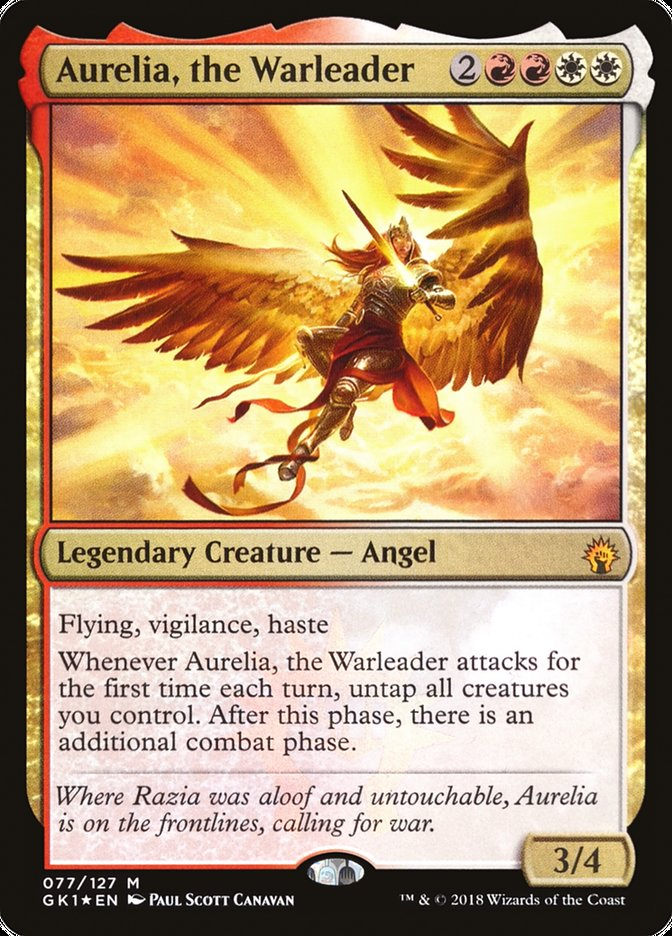 The Knowledge Pool – Aurelia, the Warleader – EDHREC