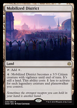 War of the Spark Set Review – Colorless/Colorful – EDHREC